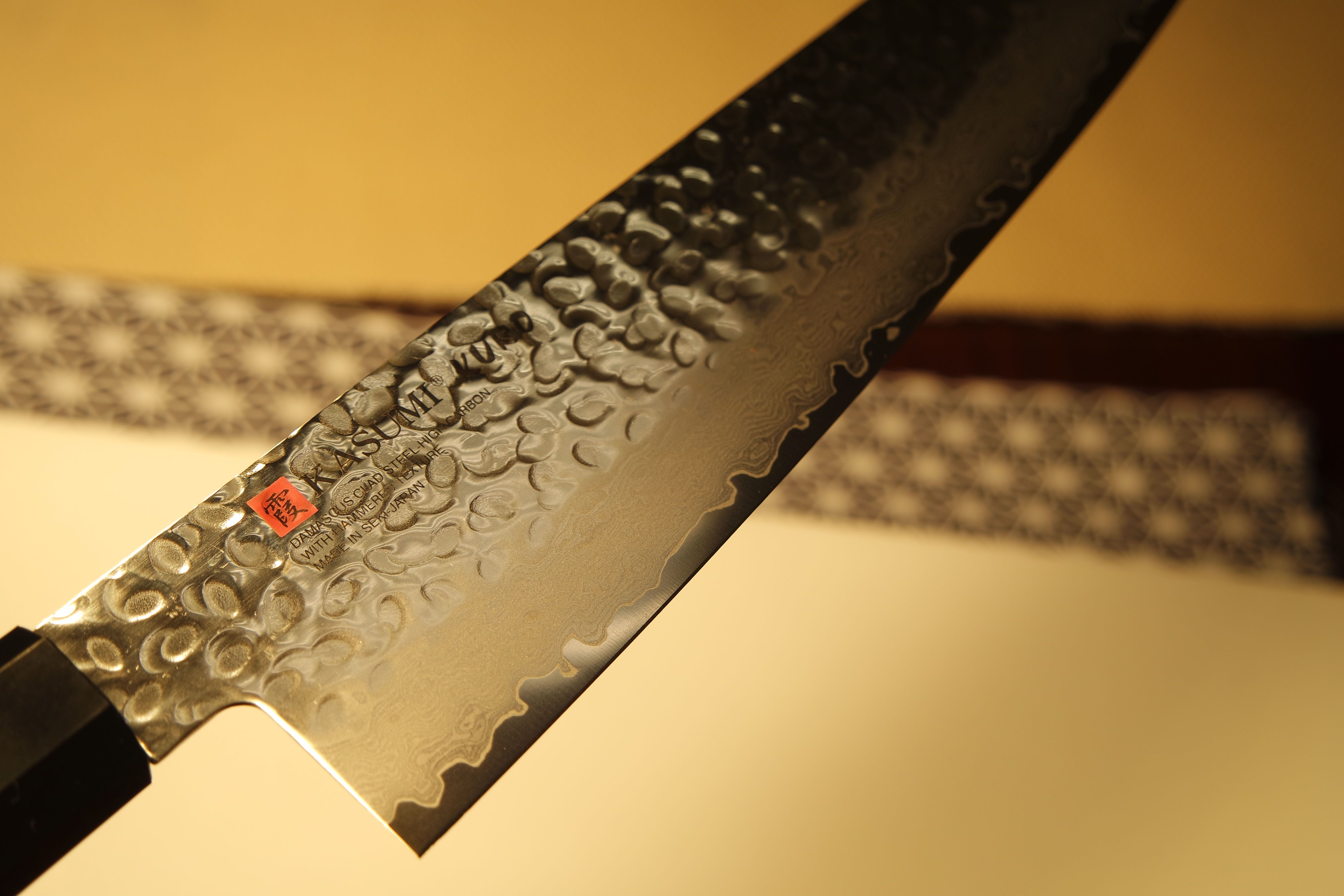 Kasumi Kuro En 2020 Couteau Damas Couteau Damas