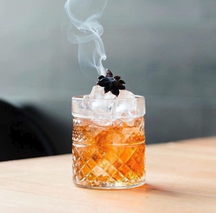 Photo of Smoky whiskey and star anise cocktail