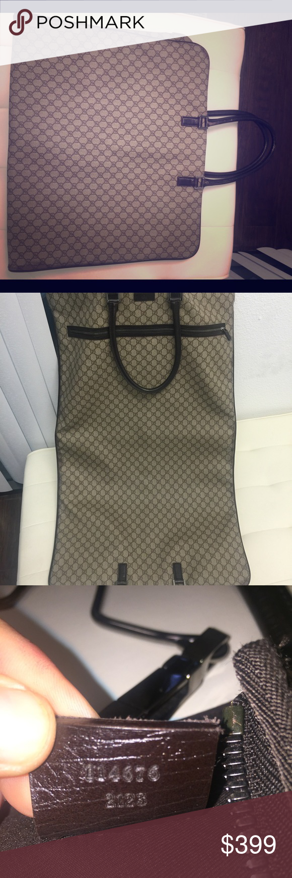 Gucci Garmet Bag Leather Beautiful, slightly worn great looking Gucci Garmet bag. Timeless piece, must have for any jet setting lady! Gucci Bags Travel Bags