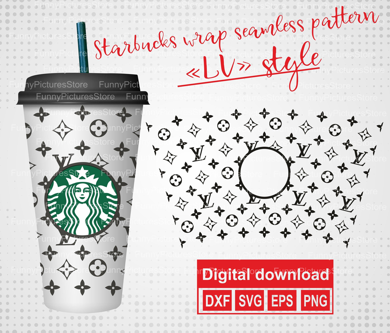 Seamless Wrap for Starbucks LV. For Starbucks Reusable