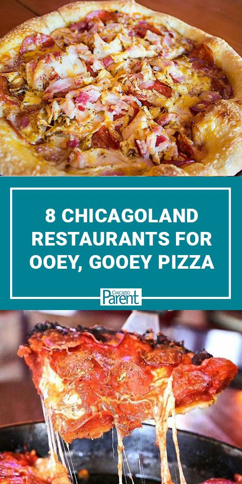 8 Chicagoland Spots For Ooey Gooey Pizza Goodness