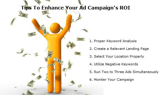 If you want to enhance your PPC campaign's ROI. Follow the tips mentioned above in the image.