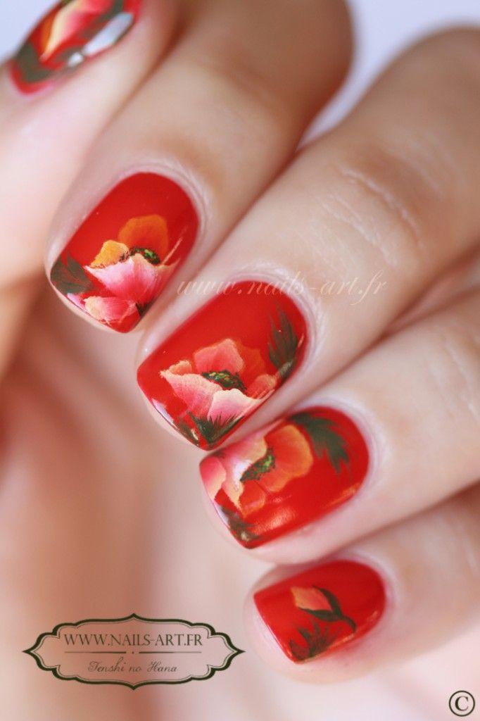 http://www.nails-art.fr/crepuscule-dete/ | Nail art | Pinterest ...