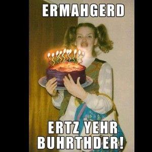 nerdy happy birthday Crazy nerdy chick happy birthday meme | Happy Birthday Memes  nerdy happy birthday