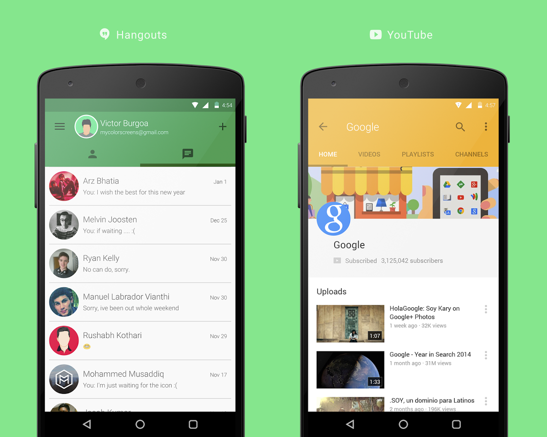 Vi Material Design Theme Android App | Android Apps | Pinterest ...