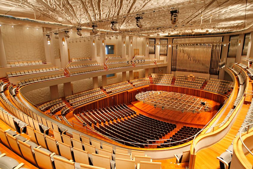 The concert hall inside beijing national grand theatre in for Beijing opera house architect