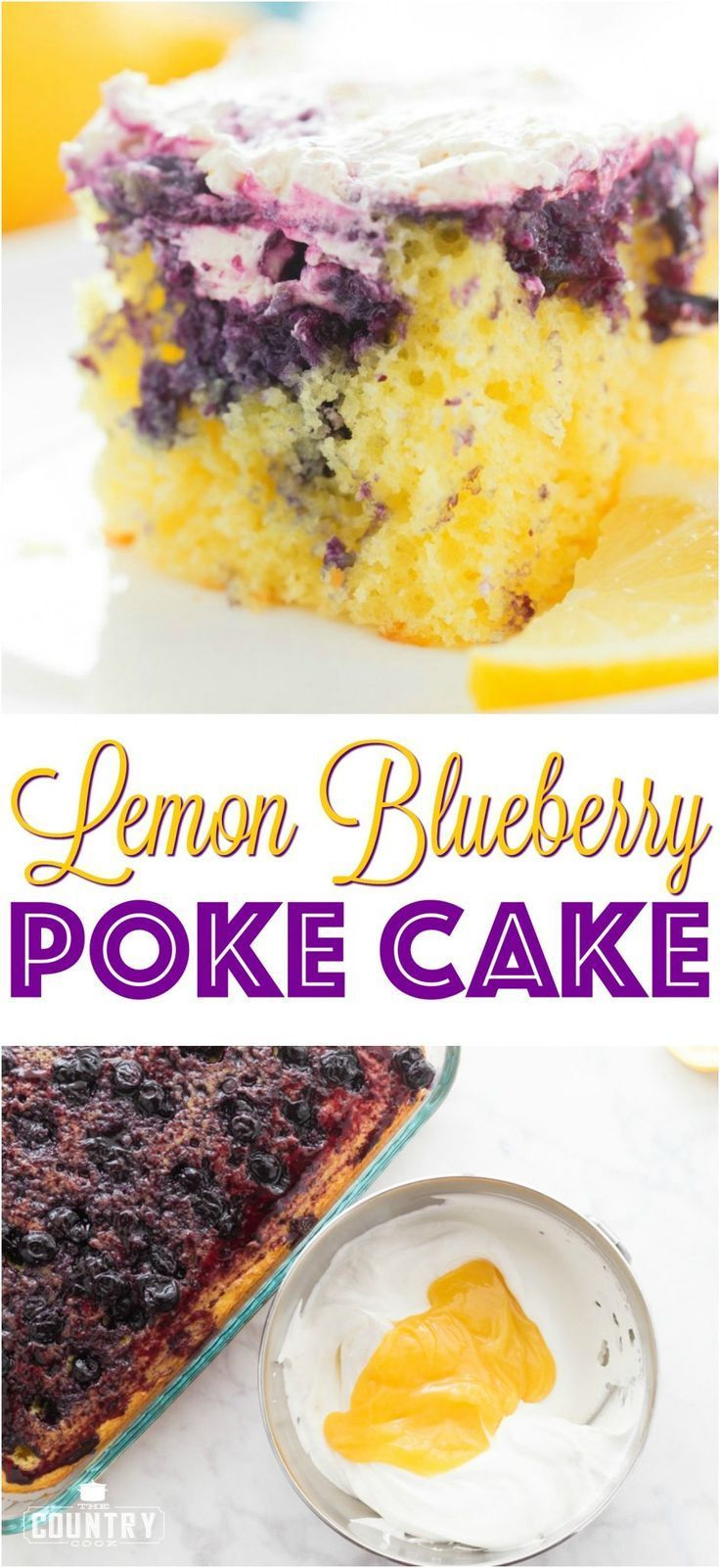 Lemon blueberry poke cake recipe from the country cook lemon cake lemon blueberry poke cake recipe from the country cook lemon cake dessert forumfinder Gallery