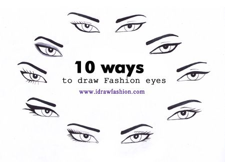 How To Draw Eyes Step By Step I Draw Fashion Fashion Illustration Sketches Face Fashion Illustrations Techniques Fashion Illustration Face