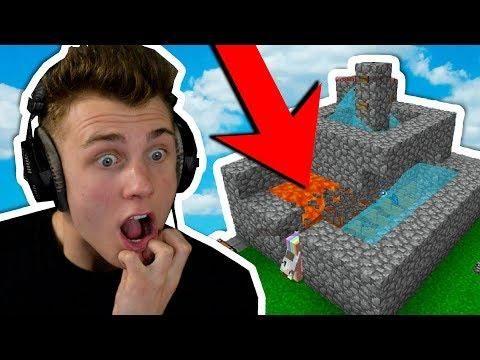 COBBLESTONE GENERATOR UPGRADES Minecraft Skyblock Minecraft - Minecraft skyblock spielen