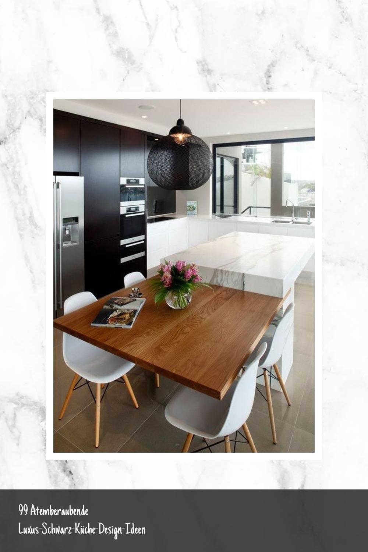 99 Atemberaubende Luxus Schwarz Kuche Design Ideen Small Modern Kitchens Contemporary Kitchen Cabinets Home Decor Kitchen