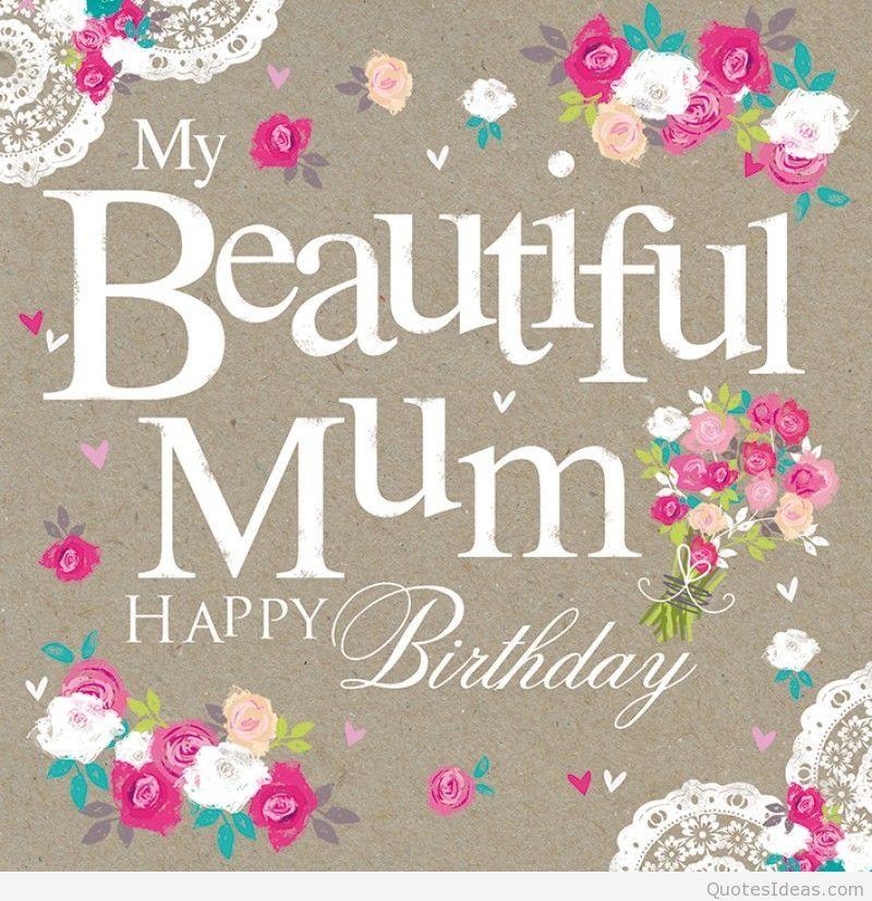 Pin by Esther Bradt on Birthday Happy birthday mom cards