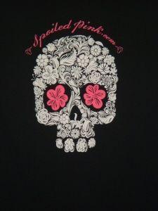 Spoiled Pink Skull T-shirt