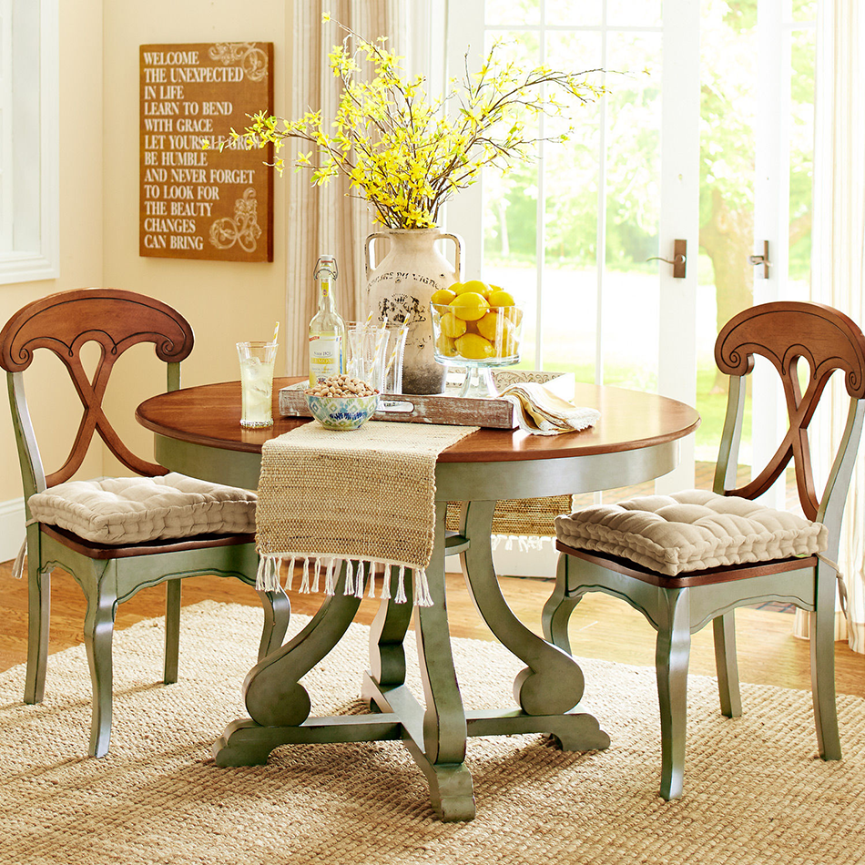 Sage Green Dining Room: Marchella Sage Round Dining Table