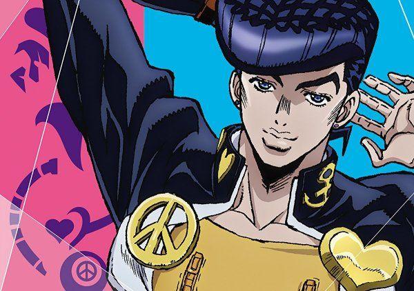 2nd Jojo S Bizarre Adventure Diamond Is Unbreakable Anime Dvd Bd Artwork Arrives Jojo Anime Jojo Bizzare Adventure Jojo