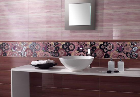 Modern Bathroom Tile Designs In Monochromatic Colors Modern