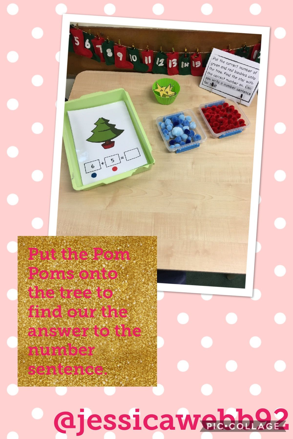 Use The Pom Poms To Find The Answer To The Number Sentence