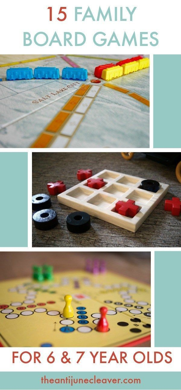 15 Family Board Games 6 Family Games that 6  7 Year Olds Can Play