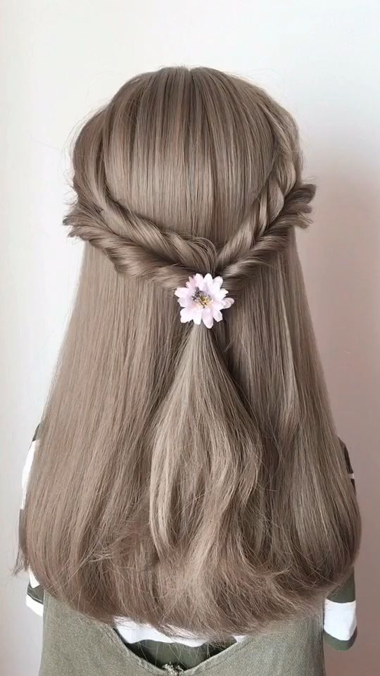 Frauen Beilaufige Frisur Hair Hochzeit Haare Hair Styles Hair Hairstyle