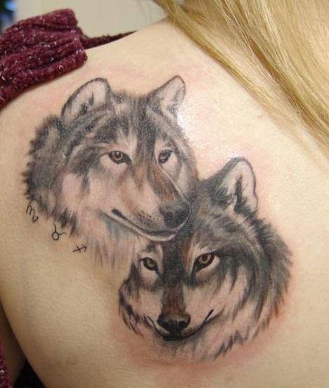quelle est la signification des tatouages de loups le. Black Bedroom Furniture Sets. Home Design Ideas