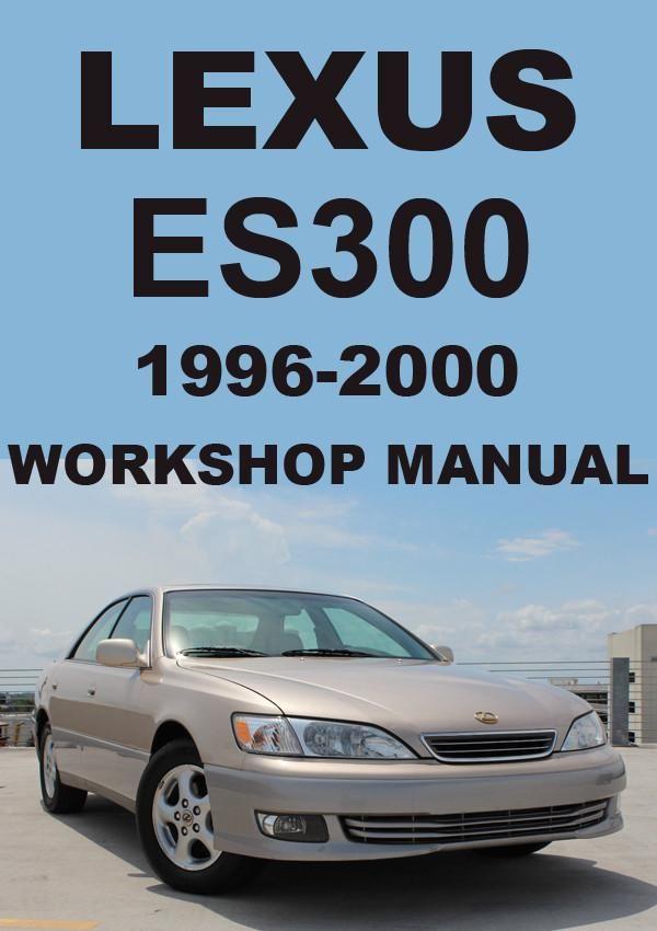 lexus es300 1996 2000 workshop manual lexus car manuals direct rh pinterest com 2018 Lexus ES 2000 lexus rx300 manual