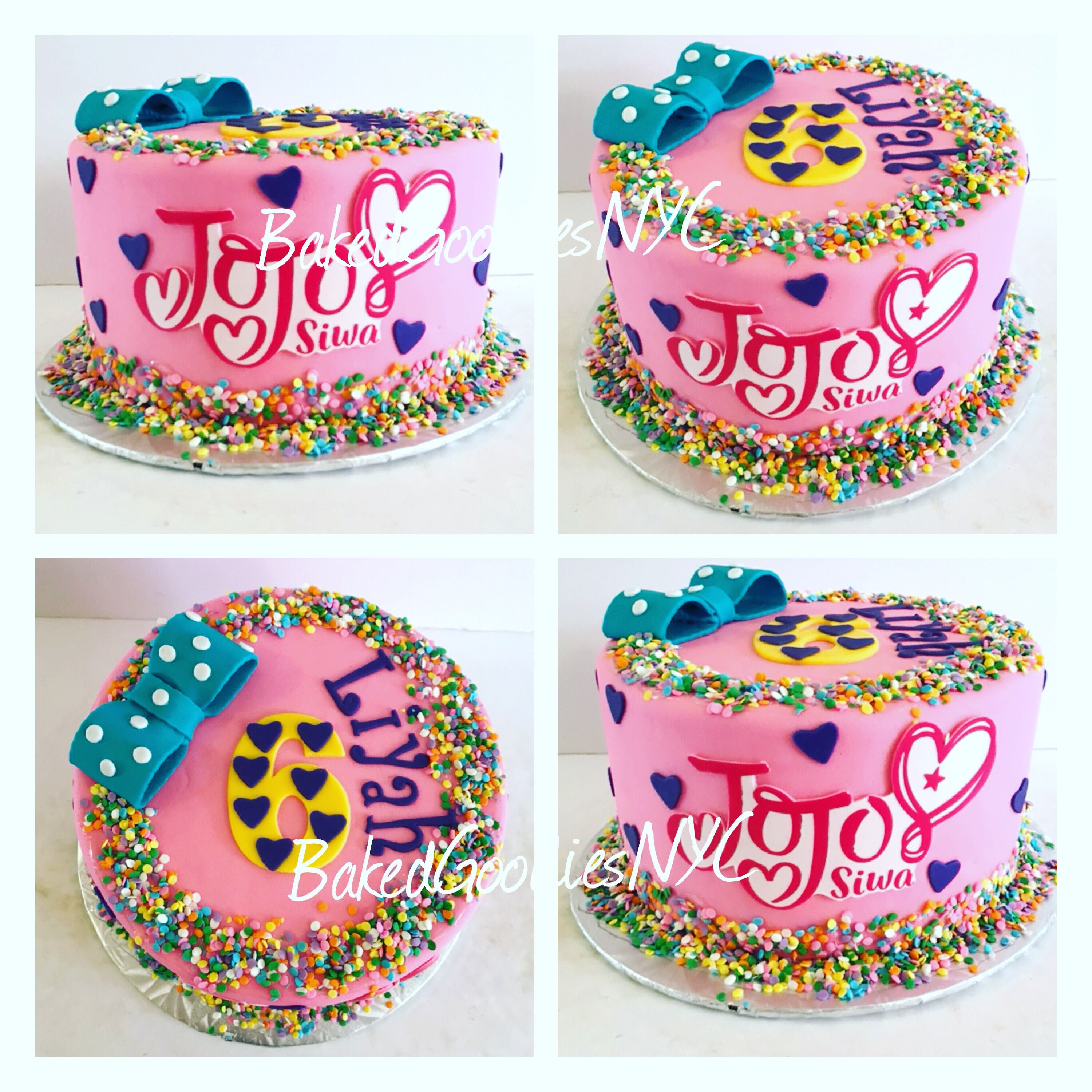 Jojo Siwa Cake With Images Jojo Siwa Birthday Cake Jojo Siwa