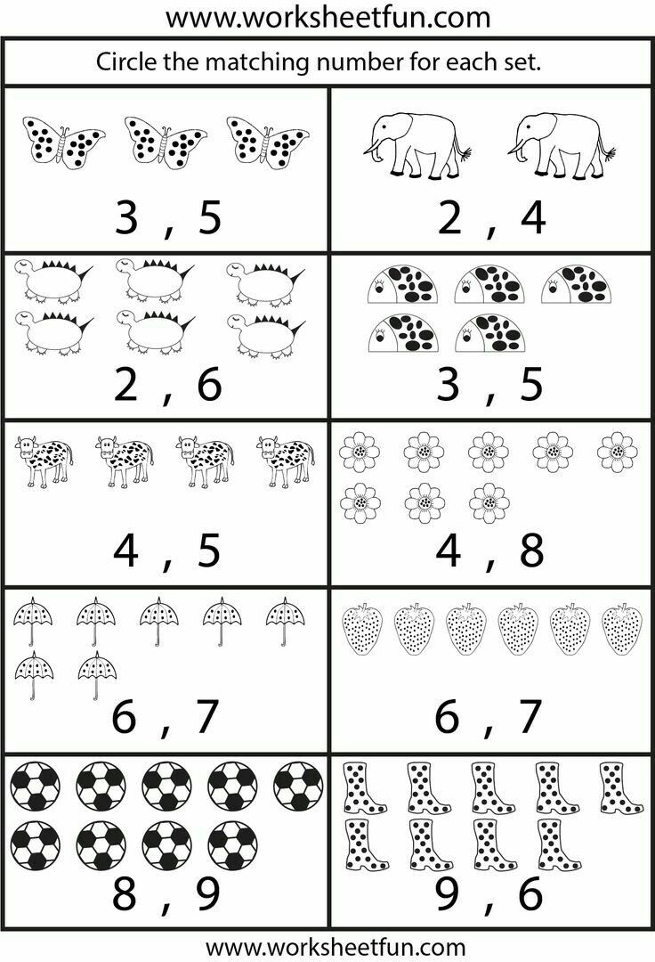 Pin By Cindy Cyriaque On Crafts Preschool Math Worksheets Counting Worksheets For Kindergarten Kindergarten Math Worksheets [ 1080 x 736 Pixel ]