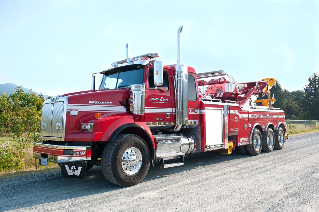 Toy Rotator Tow Truck >> Highway thru Hell - The Truck Stop - Model Cars Magazine Forum   Fire and Tow   Pinterest   Car ...