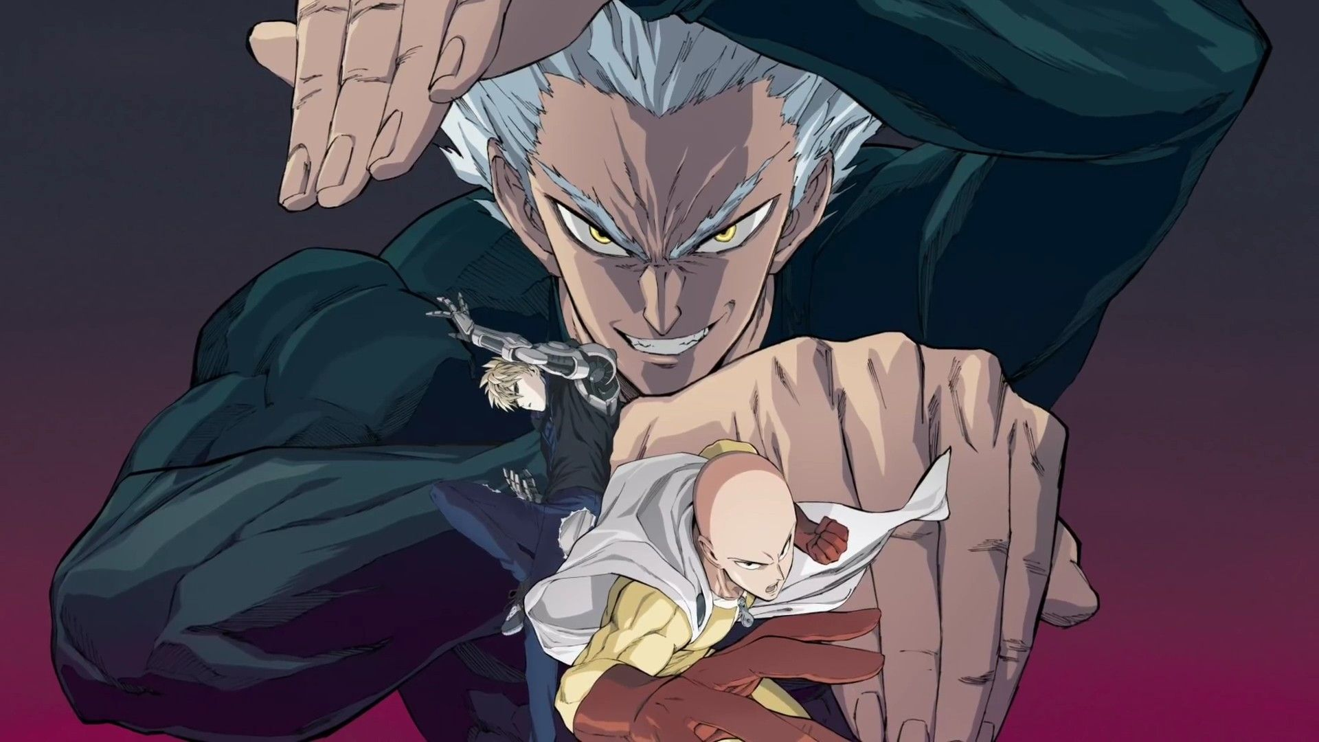 One Punch Man [2] Segunda temporada, Anime, 2 temporada