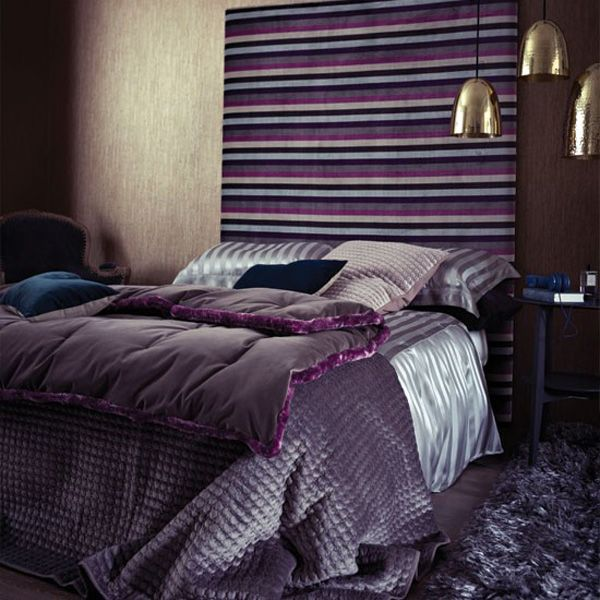 Bedrooms 05 1 Kind Design Lila Schlafzimmer, Regal, Dunkel Lila Schlafzimmer ,