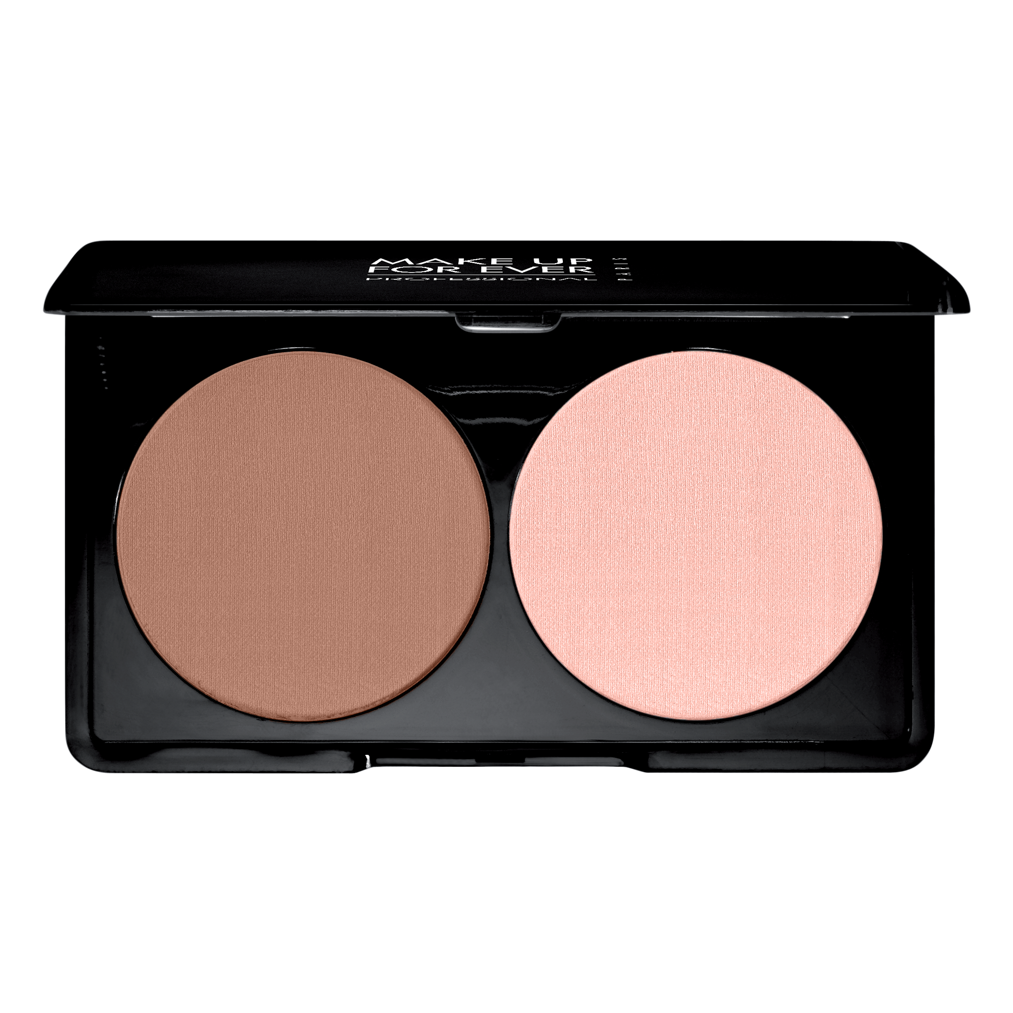 The Sculpting Kit is a set of two compact powders suited to reshape and alter the size of the face using a light and shadow contrast.