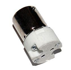 Mr11 Mr16 G4 Bi Pin To Bayonet Ba15s Single Socket Lamp Adapter Bayonet G4 Led Sockets