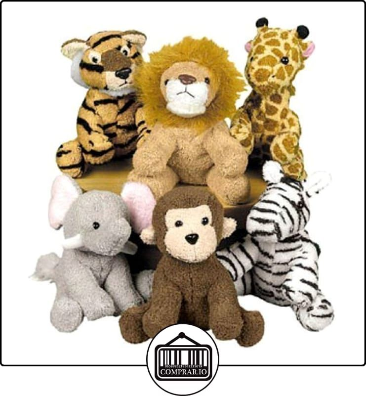 Fun Express Assortment Suede Jungle Animal (Set of 12)(Discontinued by manufacturer)  ✿ Regalos para recién nacidos - Bebes ✿ ▬► Ver oferta: http://comprar.io/goto/B0035RJK38