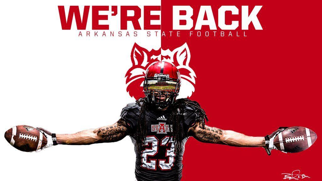 Arkansas State Arkansas State Sports Graphics Football