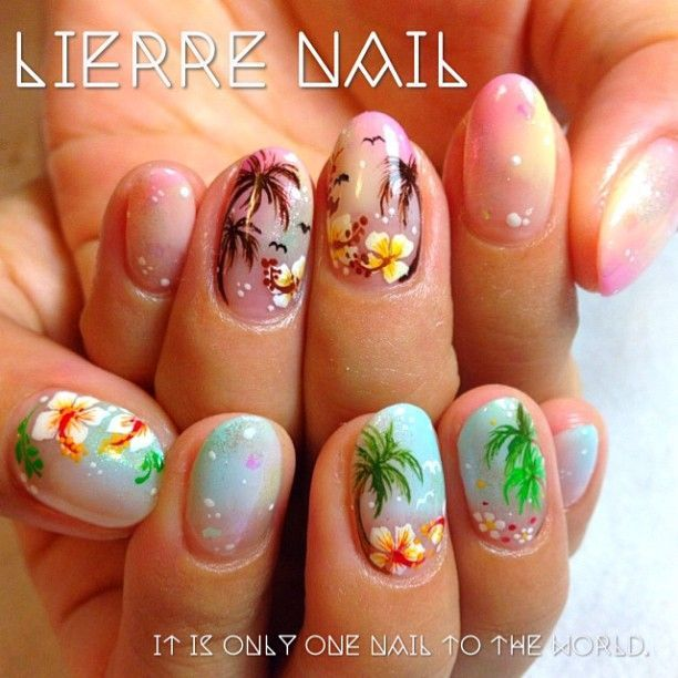 Nail designs hawaii nail art designs beautify me pinterest nail designs hawaii nail art designs prinsesfo Image collections