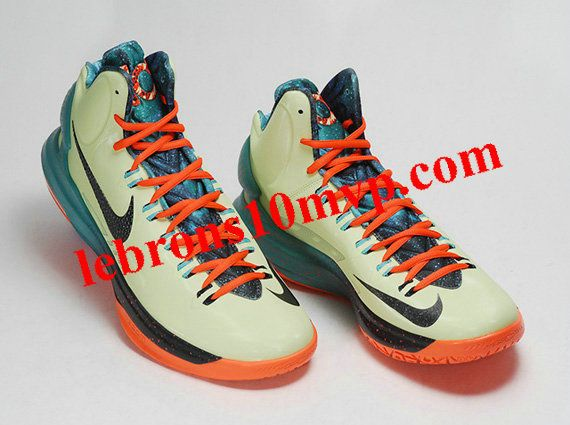 49ac6aaf6908 Nike KD V All Star Liquid Lime Obsidian Sport Turquoise Total Crimson  583111 300