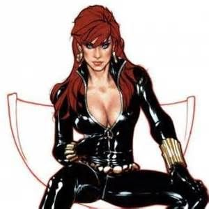 black widow comic character - yahoo Image Search Results