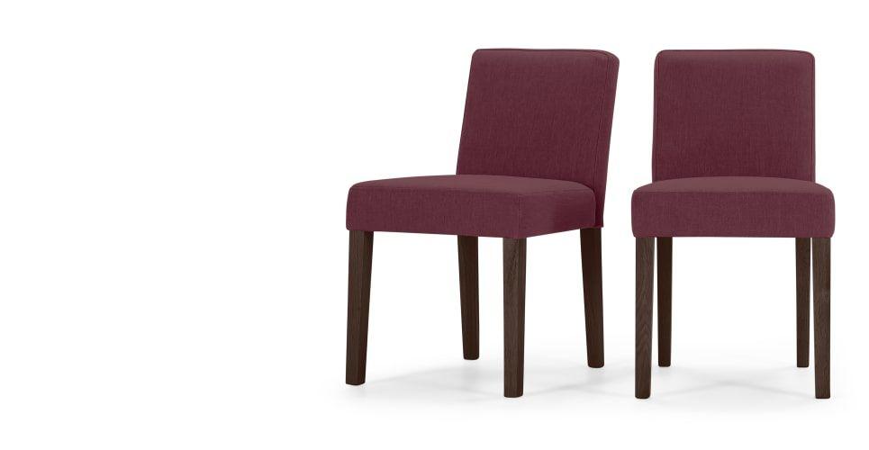 2 X Wilton Chaises Rouge Merlot Chaises Pinterest Chaises