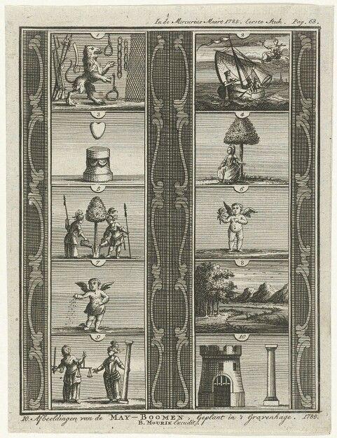 Meiboom geplant door de Haagse Shutterji, anon, 1778