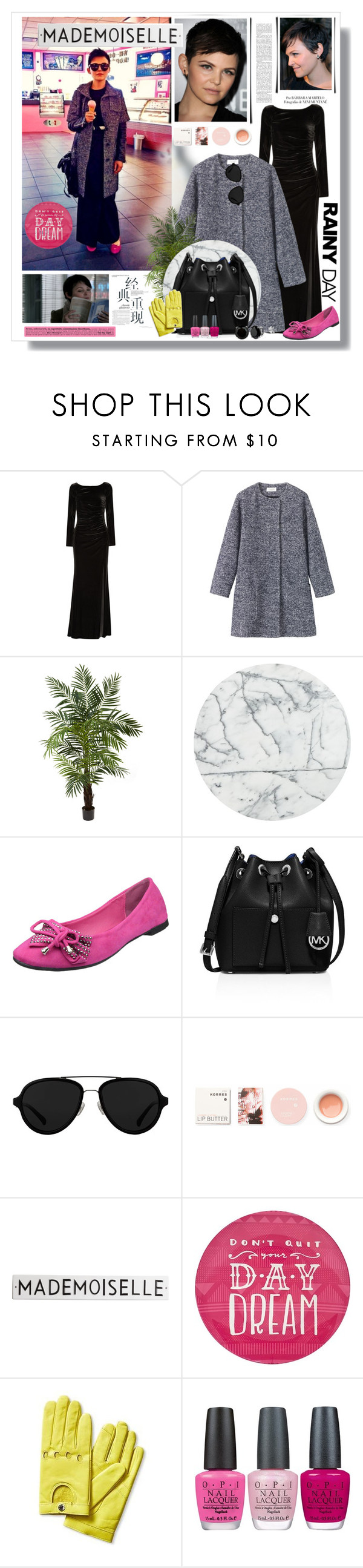 """""""Celebrity style"""" by bellamonica ❤ liked on Polyvore featuring Badgley Mischka, Toast, Nearly Natural, CB2, MICHAEL Michael Kors, 3.1 Phillip Lim, Arco, Korres, Rosanna and Simple by Design"""