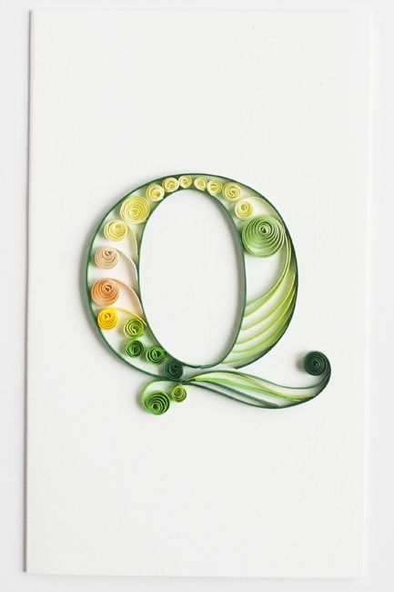 Product image alphabet numbers pinterest quilling become a retailer of quilling cards made by quilling card we also create custom quilling orders altavistaventures Images
