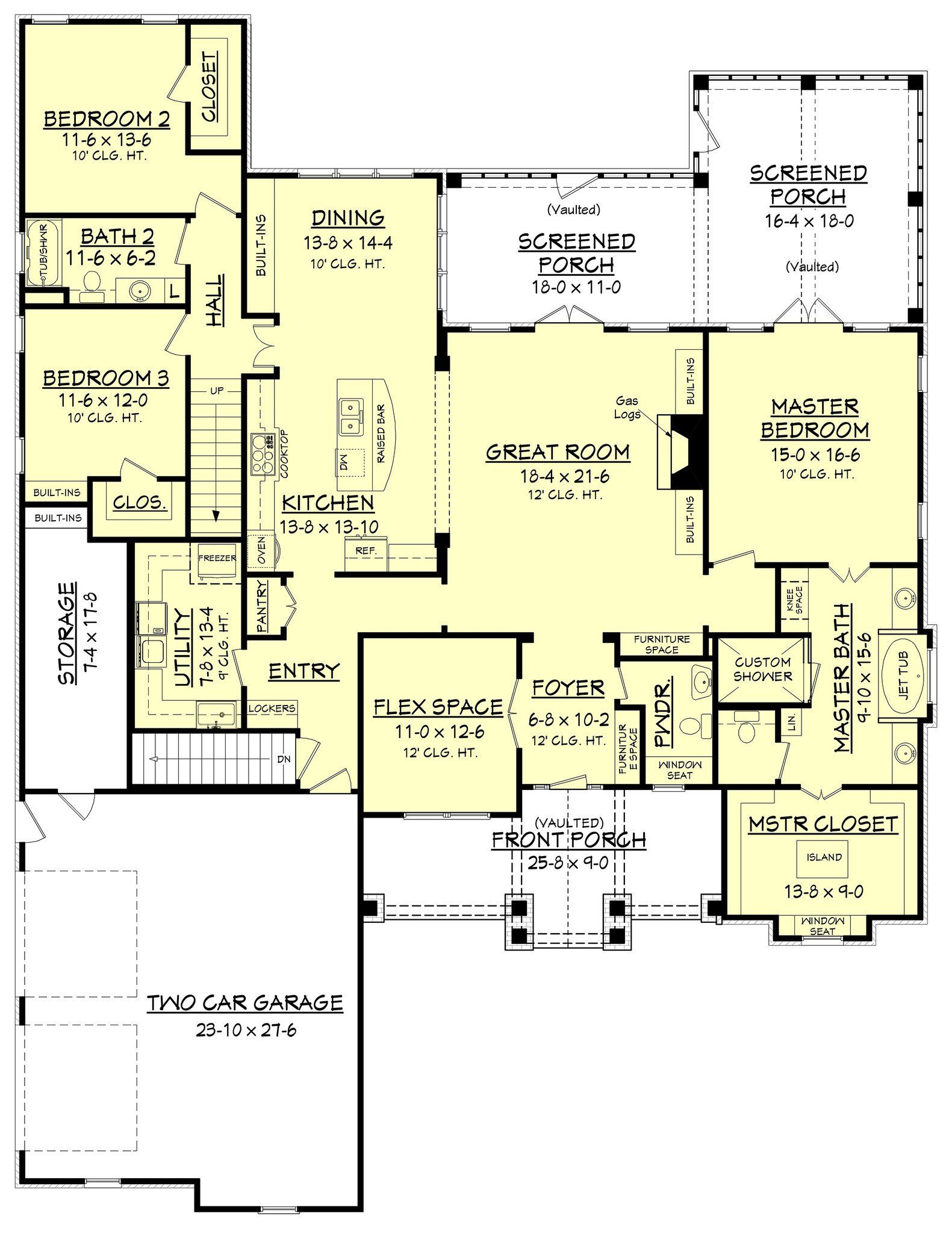 House 7 to 7: layout, design features