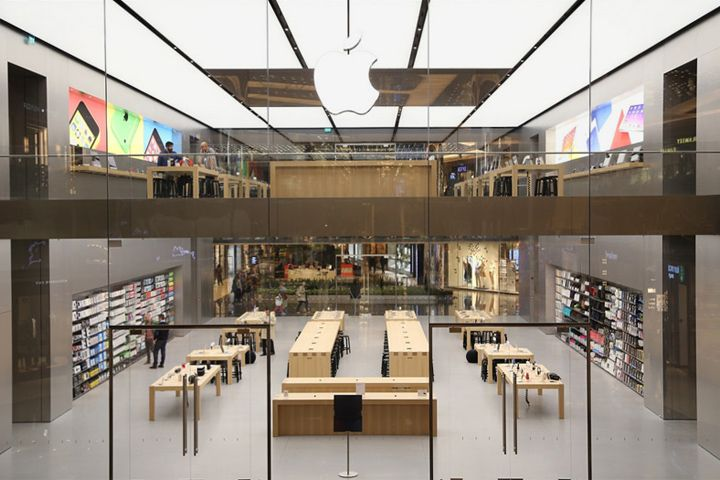 Apple Store By Foster Partners Istanbul Turkey Electronics Interior DesignStore DesignDesign LayoutsDesign