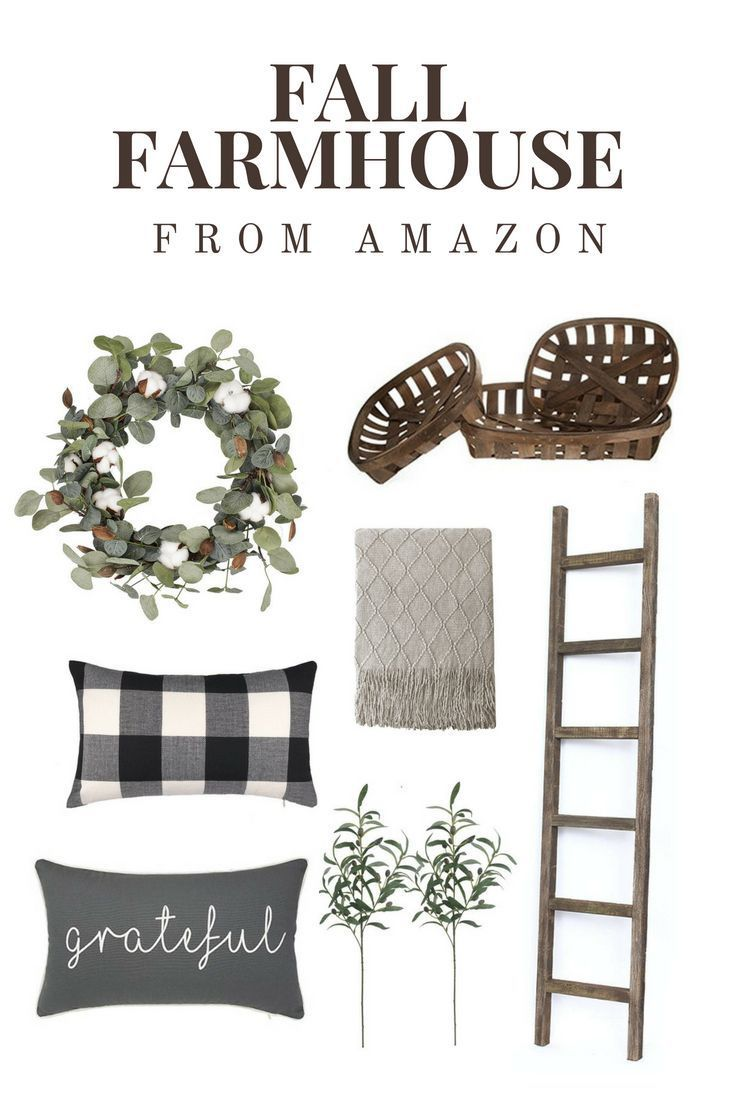 The best fall farmhouse decor on Amazon -