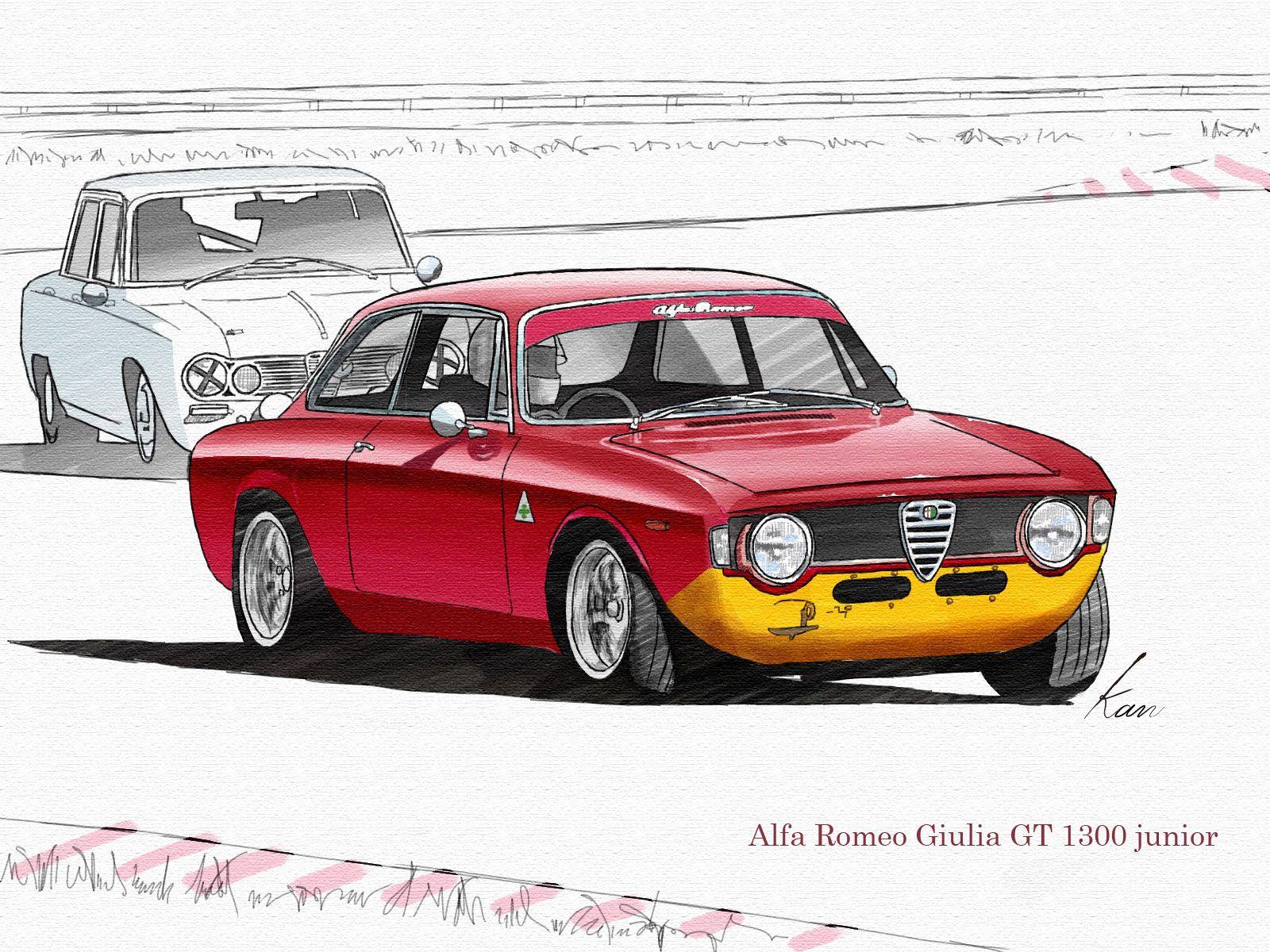 7205dfc5d1f Alfa Romeo Giulia GT 1300 junior(Tokyo Bayside Classic Cup)