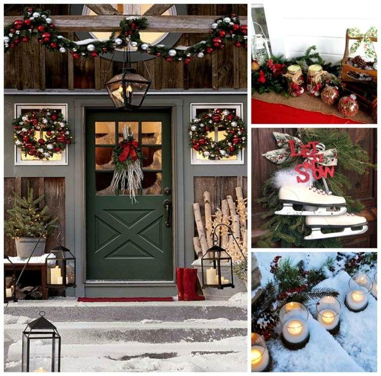 Déco extérieur Noël pour un jardin festif et intéressant