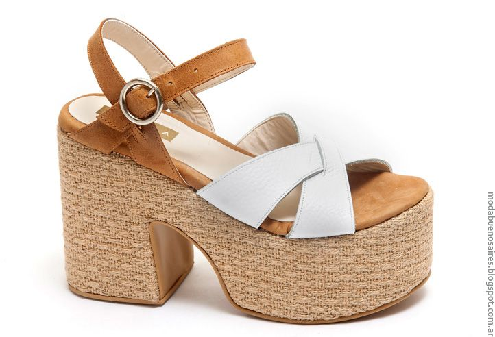 56992753 Moda primavera verano 2017 sandalias con bases de rafia. Types Of Sandals,  Zara Outfit