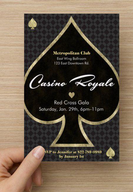 casino royal einladung