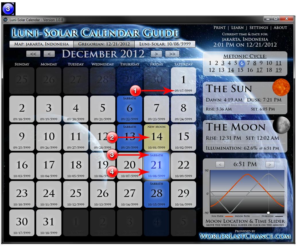Luni Solar Calendar