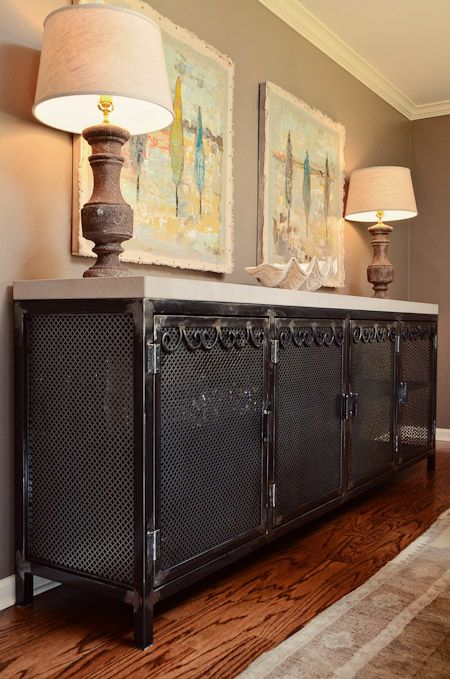 Raw Steel Iron More Beautiful Work In Steph S House By