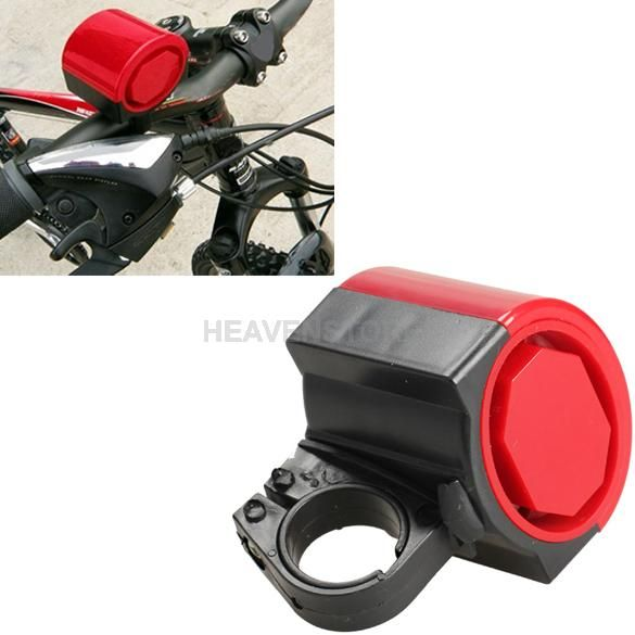 Mini Electronic Bicycle Bike Cycling Loud Horn Red NEW